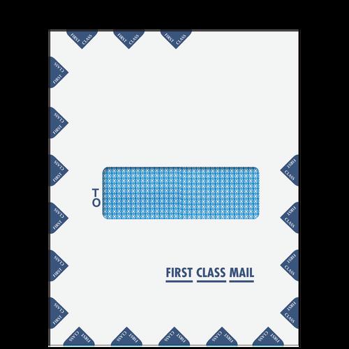 80925 - Single Window First Class Mail Envelope (Peel & Close)