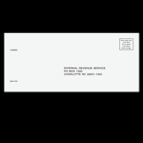 ESNC110 - 1040-ES Envelope - Charlotte, NC