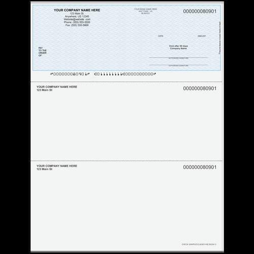 L80901 - Multi-Purpose Top Business Check