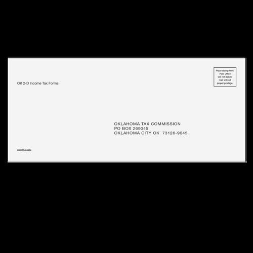 OK2DR410 - OK Returns Envelopes (with 2D Barcode)