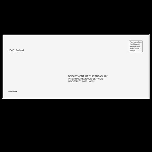 FUTRF10 - 1040 Refund Envelope - Ogden, UT