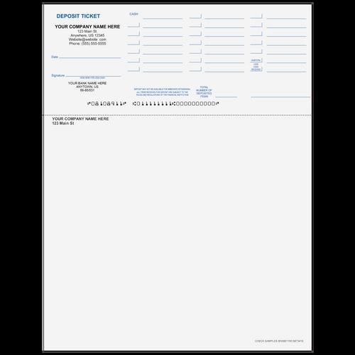8108911 - Preprinted Deposit Ticket