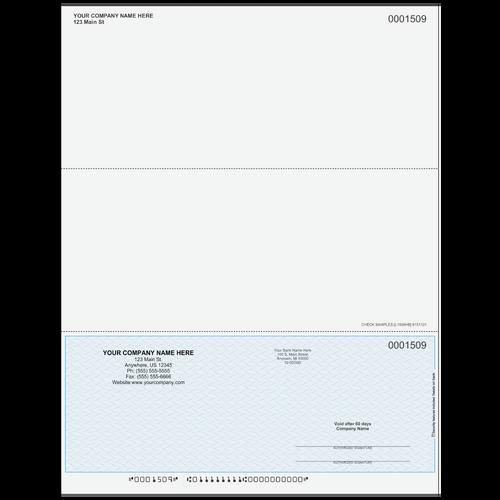L1509 - Multi-Purpose Bottom Business Check