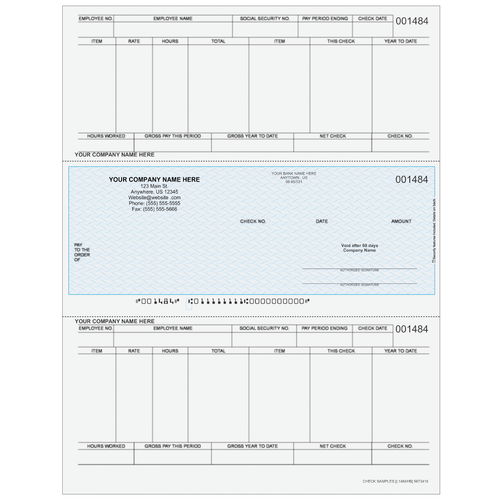 L1484 - Payroll Middle Check