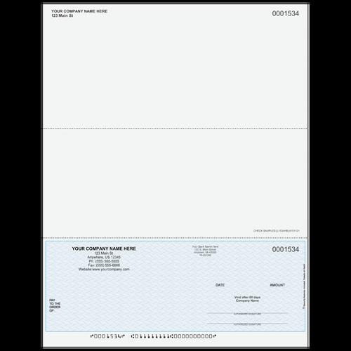 L1534 - Multi-Purpose Bottom Business Check