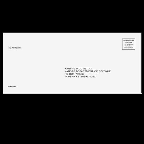 KSAR410 - Kansas All Returns & E-file Envelope