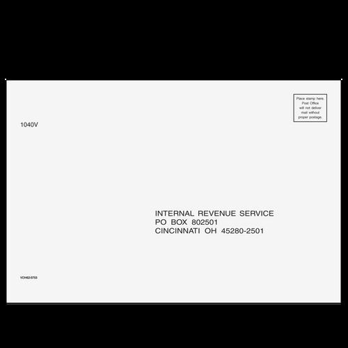 VOH6210 - 1040-V Cincinnati, OH Envelope (6 x 9)