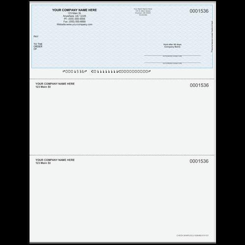 L1536 - Multi-Purpose Top Business Check