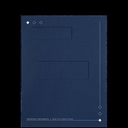 50D - Top Staple Folder with Large Offset Windows