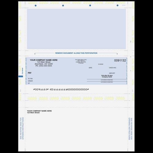 L91132 - Preprinted Multi-Purpose Pressure Seal Check
