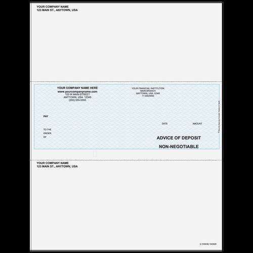 L1539 - Advice of Deposit Middle