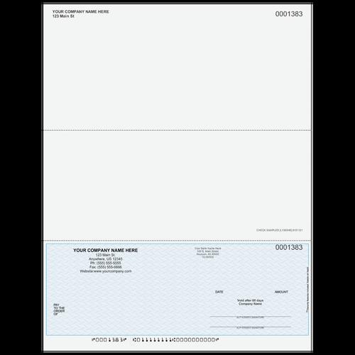 L1383 - Multi-Purpose Bottom Business Check