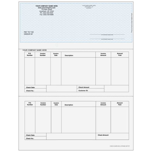 L1578 - Accounts Payable Top Business Check