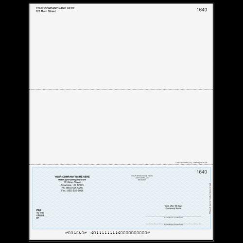 L1640 - Multi-Purpose Bottom Business Check