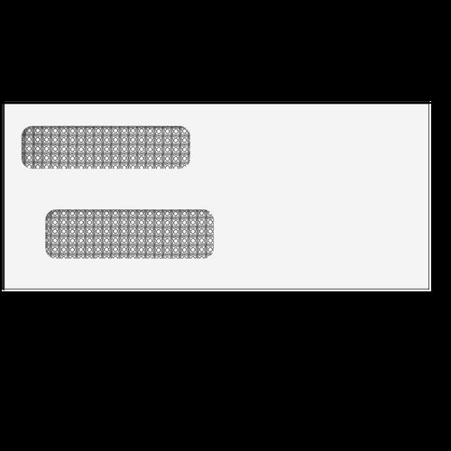 ENV1 - Double Window Envelope - Moisture Seal - 3 7/8 x 8 7/8