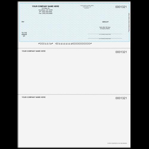 L1321 - Multi-Purpose Top Business Check