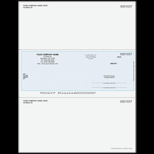 L1037C - Multi-Purpose Middle Business Check