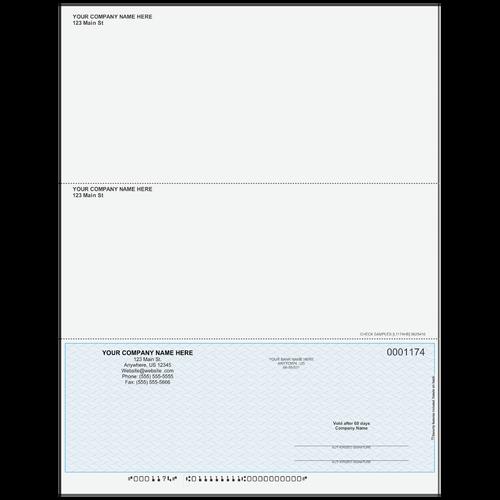L1174 - Multi-Purpose Bottom Business Check