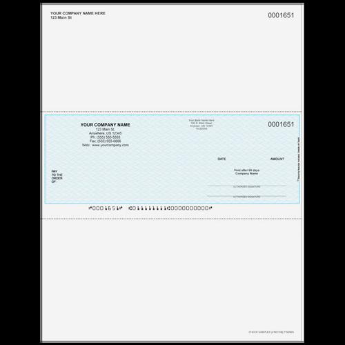 L1651 - Multi Purpose Middle Business Check