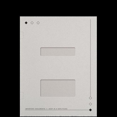 FL52WX - Side-Staple Folder with Windows