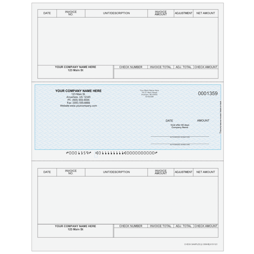L1359 - Accounts Payable Middle Business Check