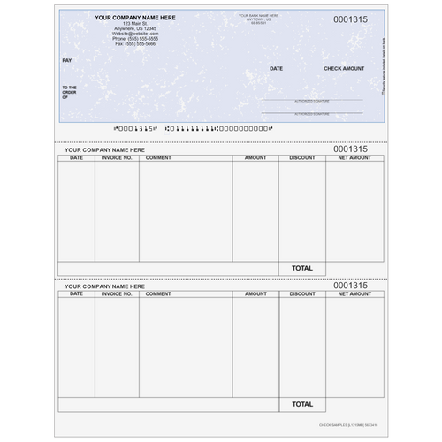 L1315 - Accounts Payable Top Business Check