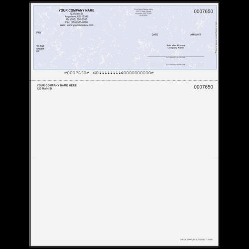L7650 - Multi-Purpose Top Business Check (One Perf)