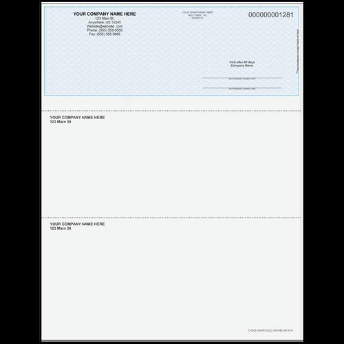 L1281 - Multi-Purpose Top Business Check