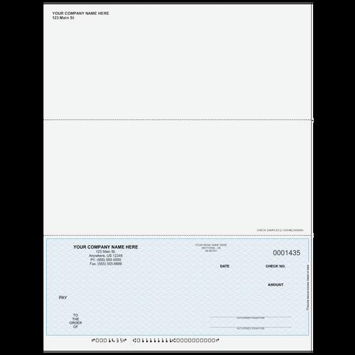 L1435 - Multi-Purpose Bottom Business Check