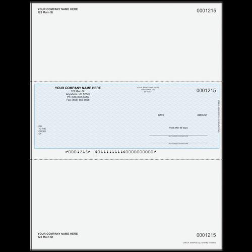 L1215 - Multi-Purpose Middle Business Check