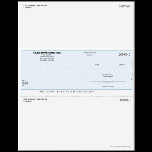 L1040 - Multi-Purpose Middle Business Check