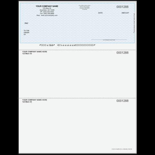 L1288 - Multi-Purpose Top Business Check