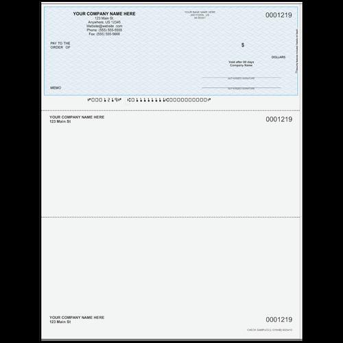 L1219 - Multi-Purpose Top Business Check