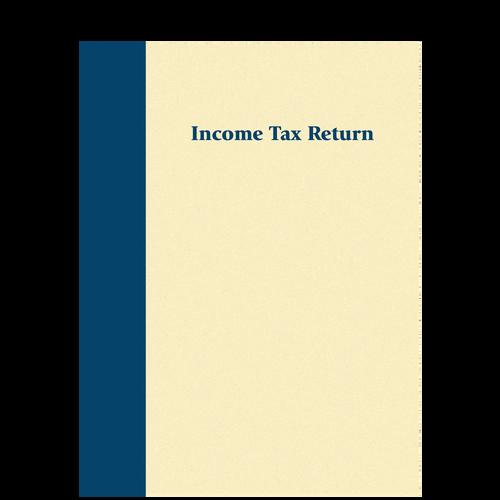 8036X - Prestigious Tax Return Folder