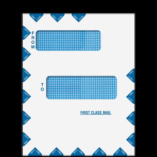 80015 - Offset Window First Class Mail Envelope