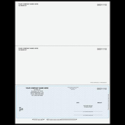 L1110 - Multi-Purpose Bottom Business Check