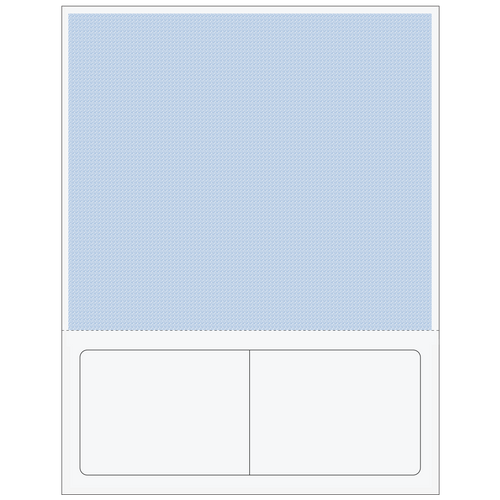 81567 - Packing Slip with Double Labels (Blue)