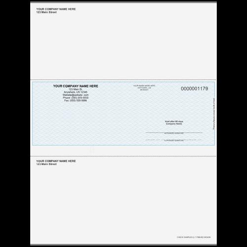 L1179B - Multi Purpose Middle Business Check