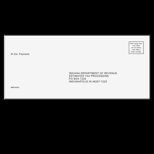 INEST10 - IN Estimate Envelope 3 7/8 x 8 7/8