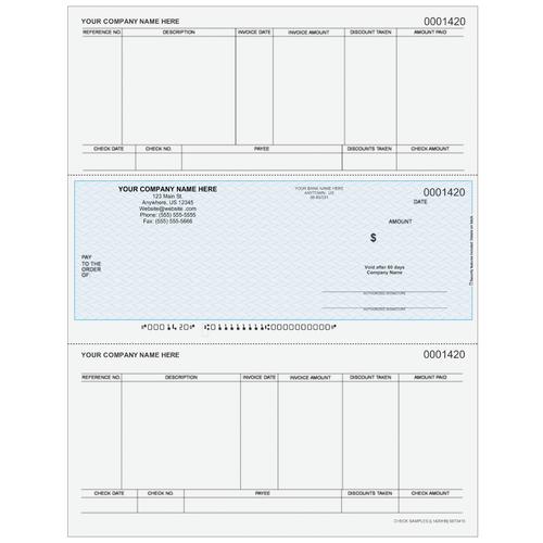 L1420 - Accounts Payable Middle Check