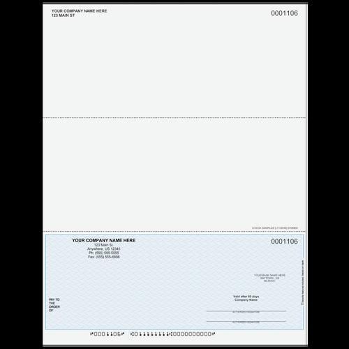 L1106 - Multi-Purpose Bottom Business Check