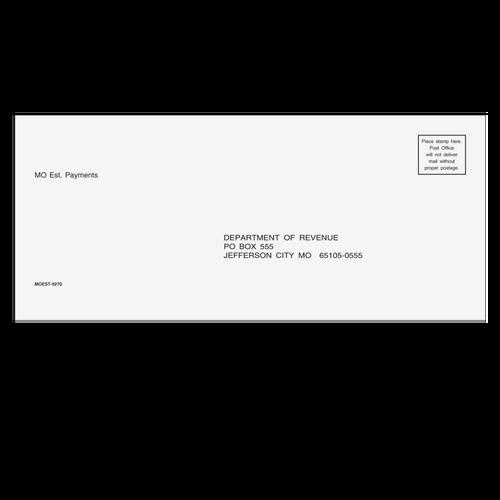 MOEST10 - MO Estimate Envelope 3 7/8 x 8 7/8