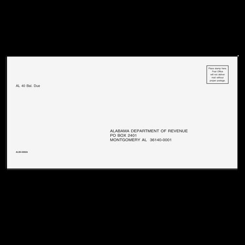 ALB410 - AL Balance Due Envelope