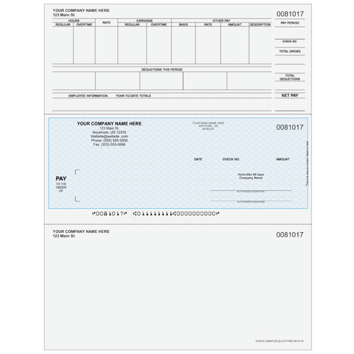 L81017 - Payroll Middle Check