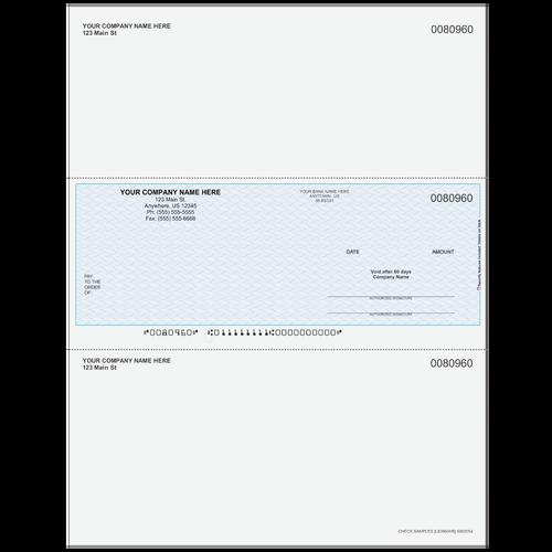 L80960 - Multi-Purpose Middle Business Check