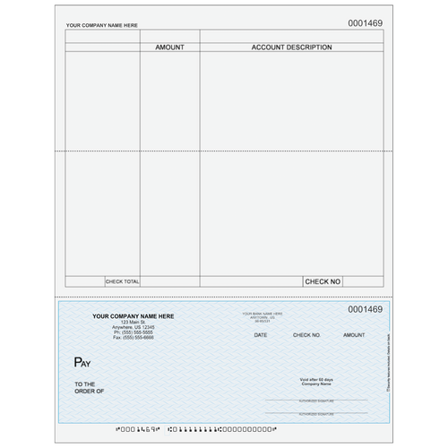 L1469 - Accounts Payable Bottom Check