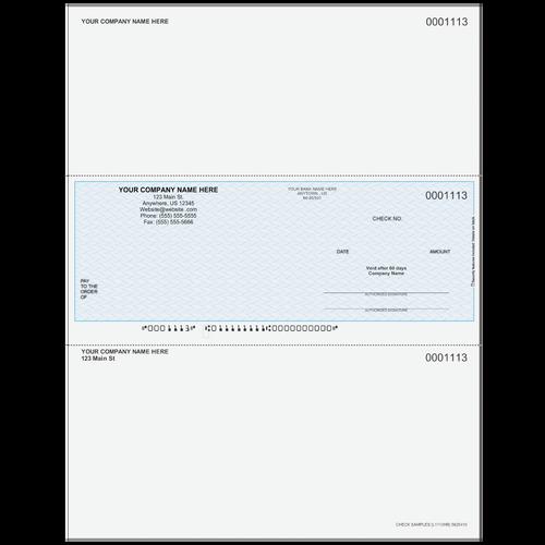 L1113 - Multi-Purpose Middle Business Check