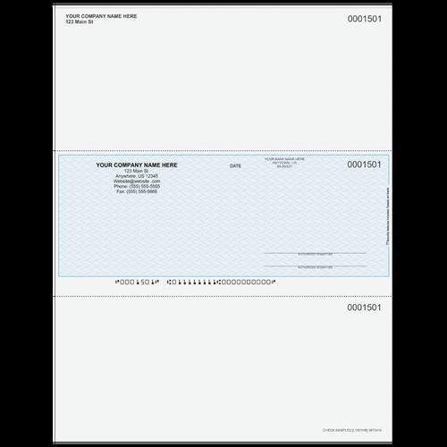 L1501 - Multi-Purpose Middle Business Check