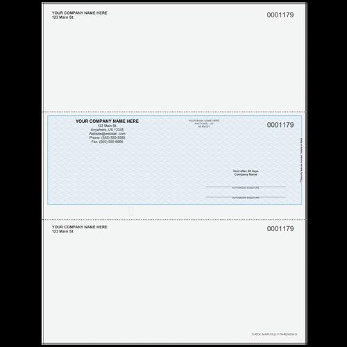 L1179 - Multi-Purpose Middle Business Check