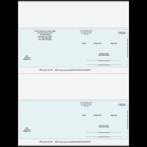 L3000 - Multi-Purpose 2-Up Business Check